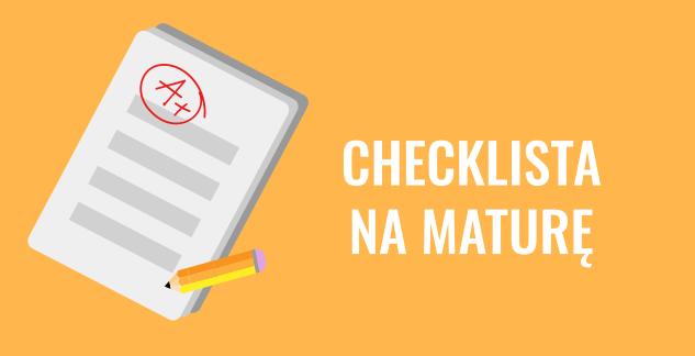 checklista na mature z hiszpanskiego
