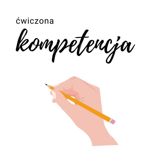 kompetencja pisanie
