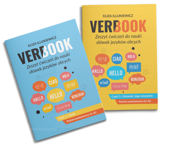 Nauka słówek dla początkujących Verbook
